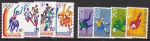 LIECHTENSTEIN ^^^1975-76  x2  MNH sets ( OLYMPICS )$$@ lar 1126liech.