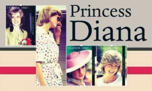 Uganda 2012 Princess Diana 3 Stamp Sheet Scott #1962 UGA1211H