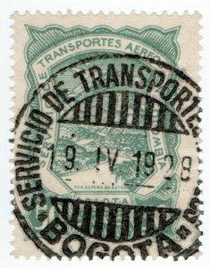 (I.B) Colombia Postal: SCADTA Airmail 50c
