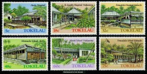 Tokelau Scott 126-131 Mint never hinged.