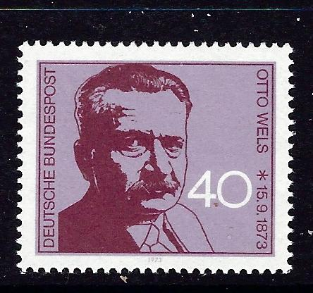 Germany 1124 MNH 1973 issue