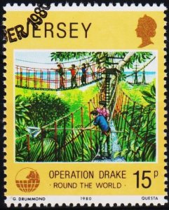 Jersey. 1980 15p S.G.242 Fine Used