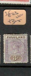 ZULULAND  (P2305B)  QV  3D  SG 23        VFU