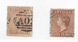 Antigua #2 Used - Stamp - CAT VALUE $70.00 PICK ONE