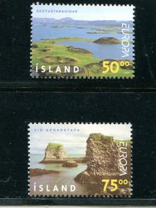 Iceland  Europa  1999 Mint VF NH - Lakeshore Philatelics
