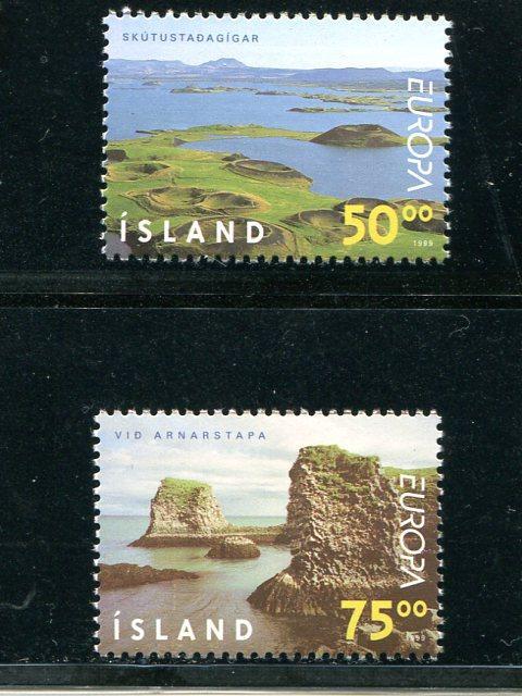 Iceland  Europa  1999 Mint VF NH - Lakeshore Philatelics