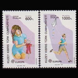 TURKISH-CYPRUS 1989 - Scott# 245-6 Europa Set of 2 NH