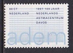 Netherlands  #970    MNH  1997   asthma centre