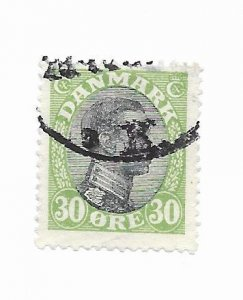 Denmark #111 Used - Stamp - CAT VALUE $3.25