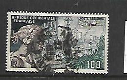 FRENCH WEST AFRICA, C19, USED, RADIOTELEPHONE EXCHANGE