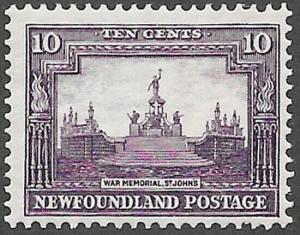 Newfoundland Scott Number 169 F H