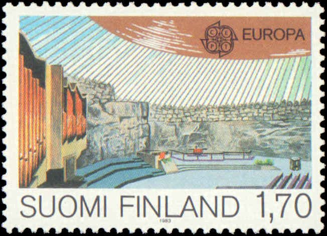 1983 Finland #679-680, Complete Set(2), Never Hinged