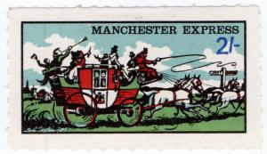 (I.B) Cinderella Collection : Manchester Local Post 2/-