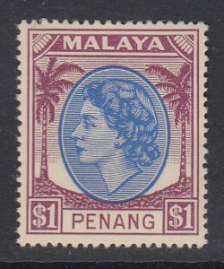 Malaya Penang Sc 20 (SG 71), MHR
