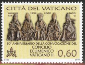 VATICAN  Scott 1430 MNH** 2009 council stamp