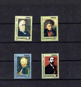 Romania:2003 Anniversaries, Artists, Van Gogh, Berlios, MNH set