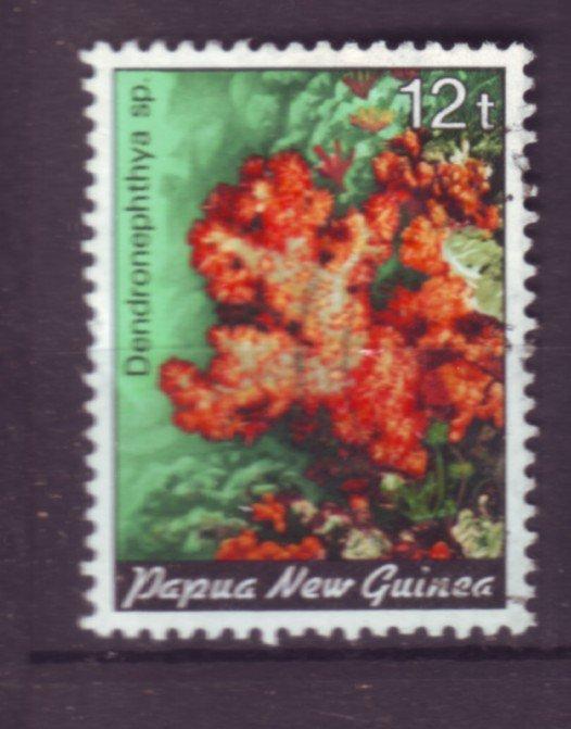 J21850 Jlstamp 1985 png set of 1 used #614 coral