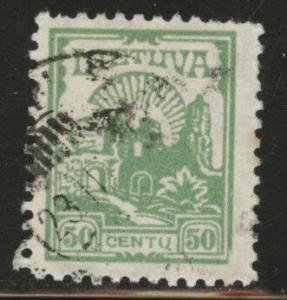 LITHUANIA LIETUVA Scott 169 Used stamp