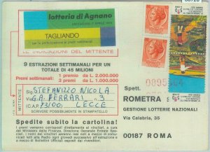 86726 - ITALY - POSTAL HISTORY - CHARITY STAMP used as postage 1979 Tuberculosis