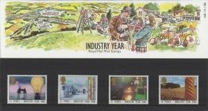 STAMP STATION PERTH Great Britain # Definitive Presentation Pack 168 MNH