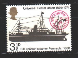 England. 1974. 650 from the series. Ship. MNH.