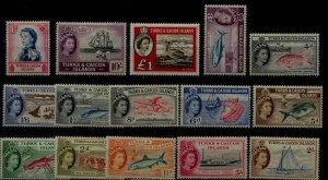 Turks Caicos 121-35 MH SCV102