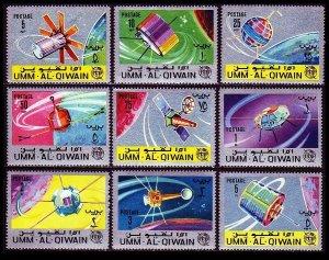 1966 Umm Al Qiwain 78-86 100 years of ITU 10,00 €