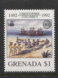 Grenada-Scott 2071 - Discovery of America Issue-1992- MNH - Single $1.00c Stamp