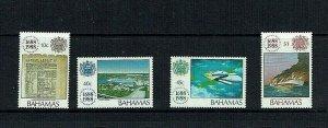 Bahamas: 1988 Tercentenary Lloyds of London,  Mint set