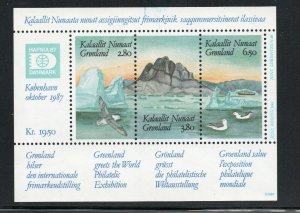 Greenland - SC# 175 MNH / S/S                -              Lot 0120020