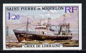 St Pierre & Miquelon 1976 Stern Trawlers 1f20 (Croix ...