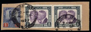 Malaya / Johore Scott 125 Gibbons 128 Used Stamp