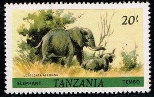 Tanzania  STAMP 1980  Loxodonta africana  20 SH MNH/OG STAMP