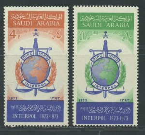 SAUDI ARABIA SCOTT# 653-654 MINT NEVER HINGED AS SHOWN