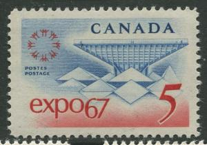 STAMP STATION PERTH Canada #469 Expo 67 Issue 1967 MNH CV$0.25