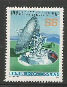 AUSTRIA 1155 MNH, SATELLITE