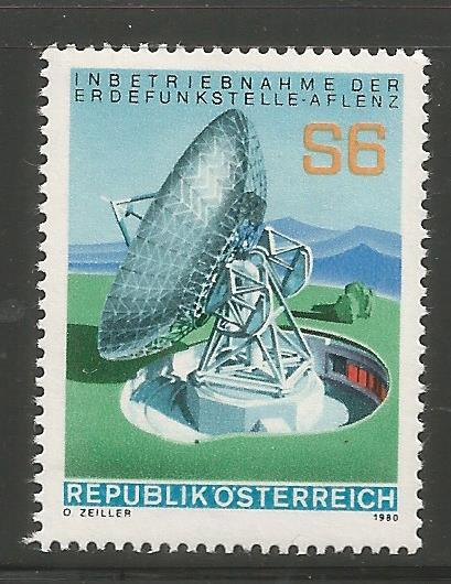 AUSTRIA 1155 MNH, SATELLITE