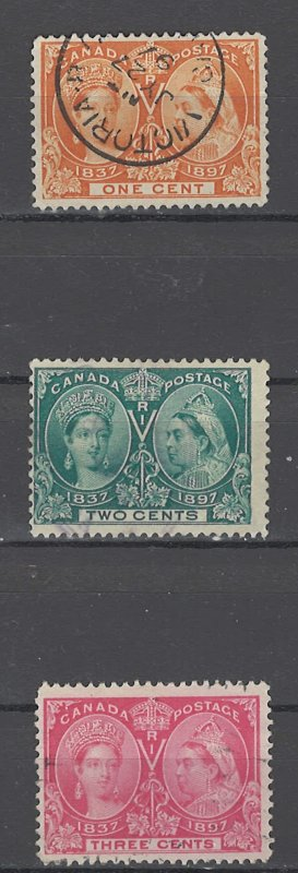 COLLECTION LOT OF # 1926 CANADA #51-3 1897 CV+$24