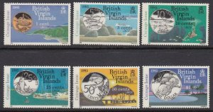 Virgin Islands 484-9 New Coinage mnh