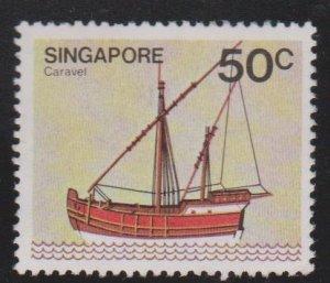 Singapore Sc#343 Used
