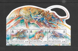 LOSTERS - PITCAIRN #755  MNH