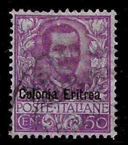 Eritrea # 27, Used. CV $ 32.50