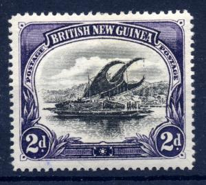 Papua 1906 sg 11, 2d violet & black, wmk vert, superb LM, thick paper