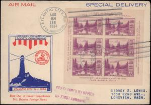 United States, New Jersey, First Day Cover