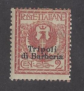 Italy Offices in Africa Tripoli Scott # 3 Mint
