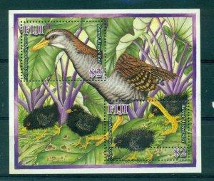 Fiji - Sc# 1169. 2007 Birds. MNH Souv. Sheet. $5.50.
