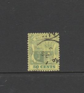 Mauritius 1900/05 50c Used SG 152