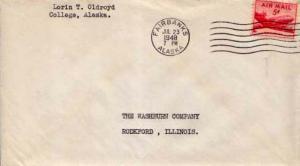 United States, Airmail Issues, Alaska