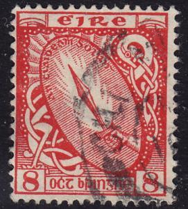 Ireland - 1949 - Scott #137 - used - Sword