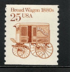 2136 Bread Wagon Coil Single Mint/nh FREE SHIPPING